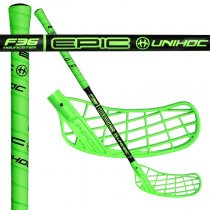 UNIHOC EPIC Youngster 36 neon green/black 55cm