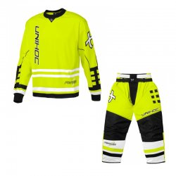 UNIHOC set Feather Neon Yellow Sr