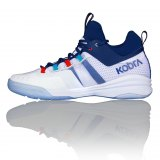 SALMING Kobra Mid 2 Shoe Men White/Limoges Blue 1