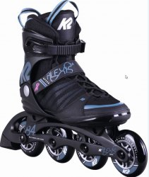 K2 Alexis 84 Speed ALU Black/Steel Blue