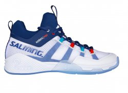 SALMING Kobra Mid 2 Shoe Men White/Limoges Blue
