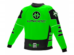 UNIHOC dres Summit neon green/black SR