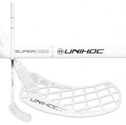 UNIHOC Epic Superskin MAX Feather Light 26 White/Black