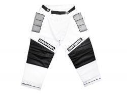 ZONE kalhoty MONSTER white/black JR