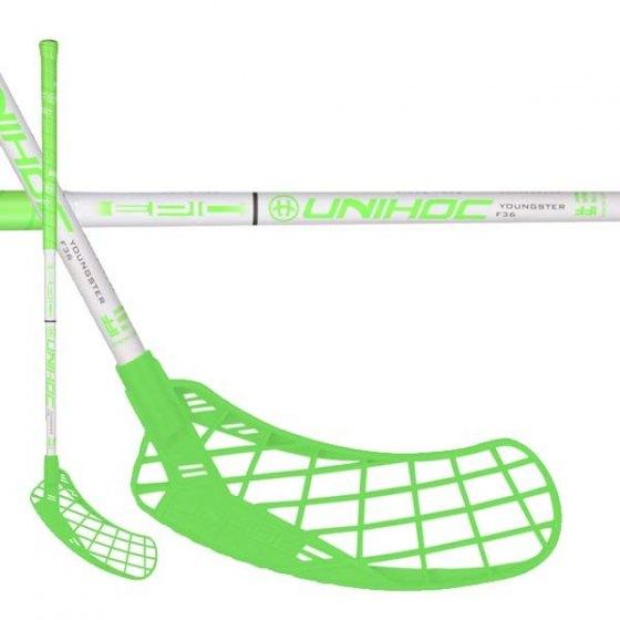 0c56f6886 UNIHOC EPIC YOUNGSTER 36 neon green/white - SPORT 15