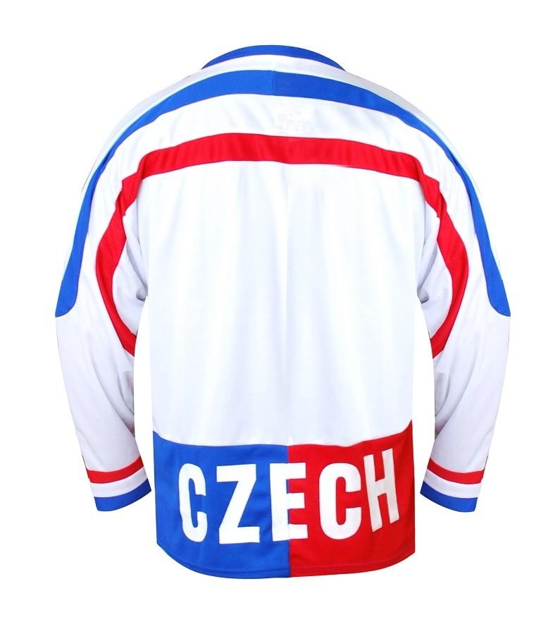 9a324dae8a6 ... SPORTTEAM hokejový dres ČR bílý Czech Republic 1