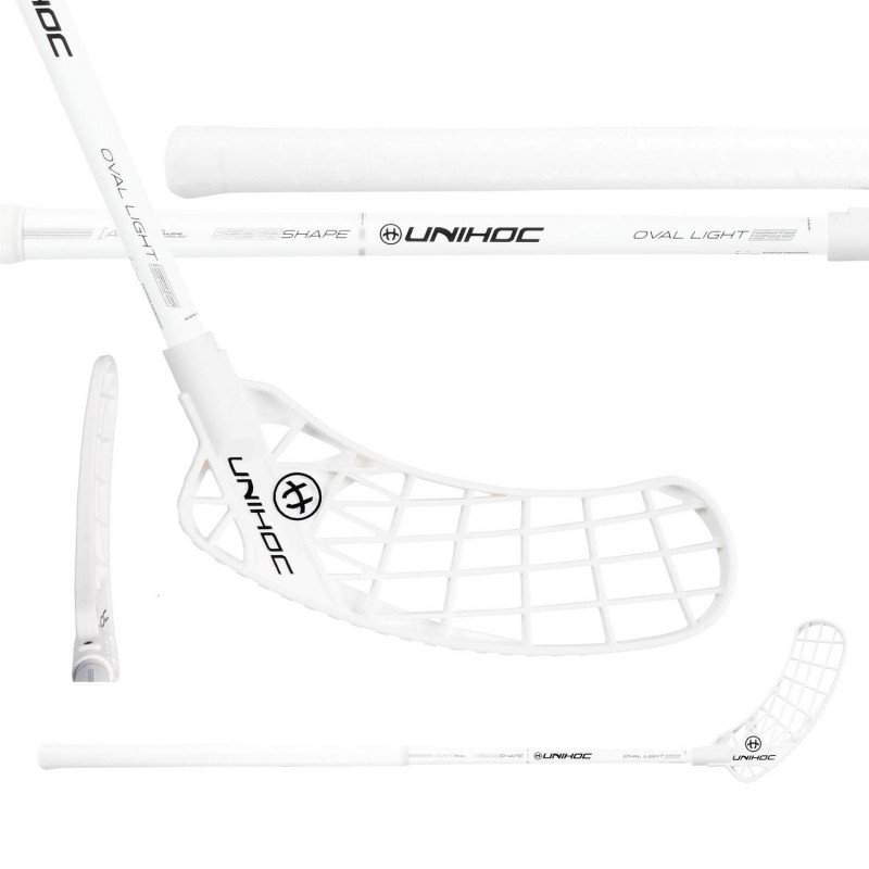 UNIHOC Iconic Oval Light 26 White/Silver