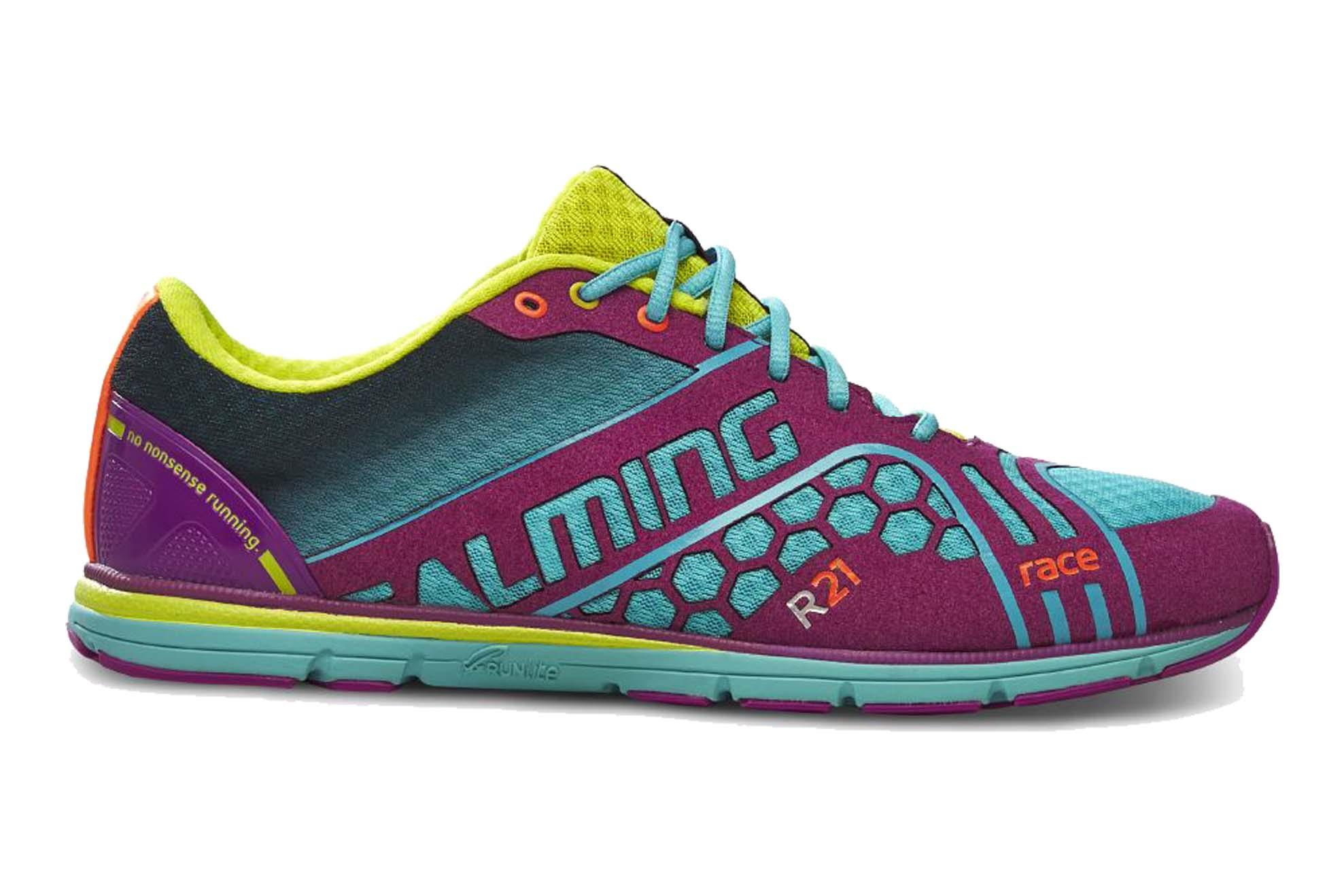 540dd9ab1cf Běžecké boty. SALMING Race 3 Shoe Women Turquoise Purple