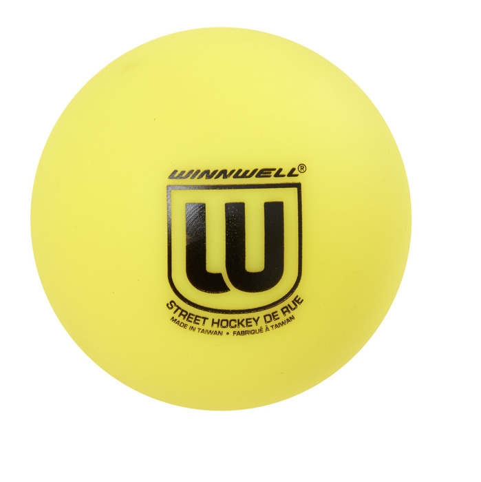 WINNWELL míček hokejbal Soft Yellow