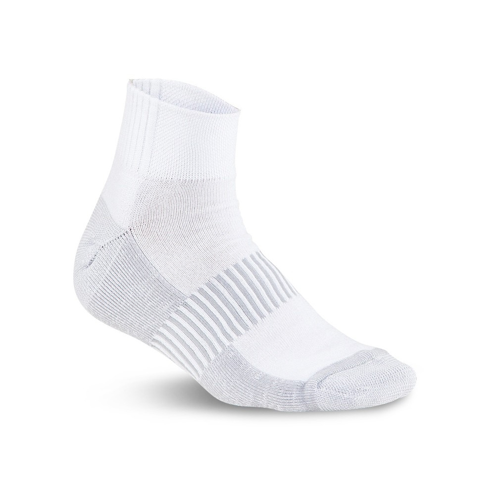 running-sock-white